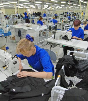 Ways to increase productivity in sewing enterprises